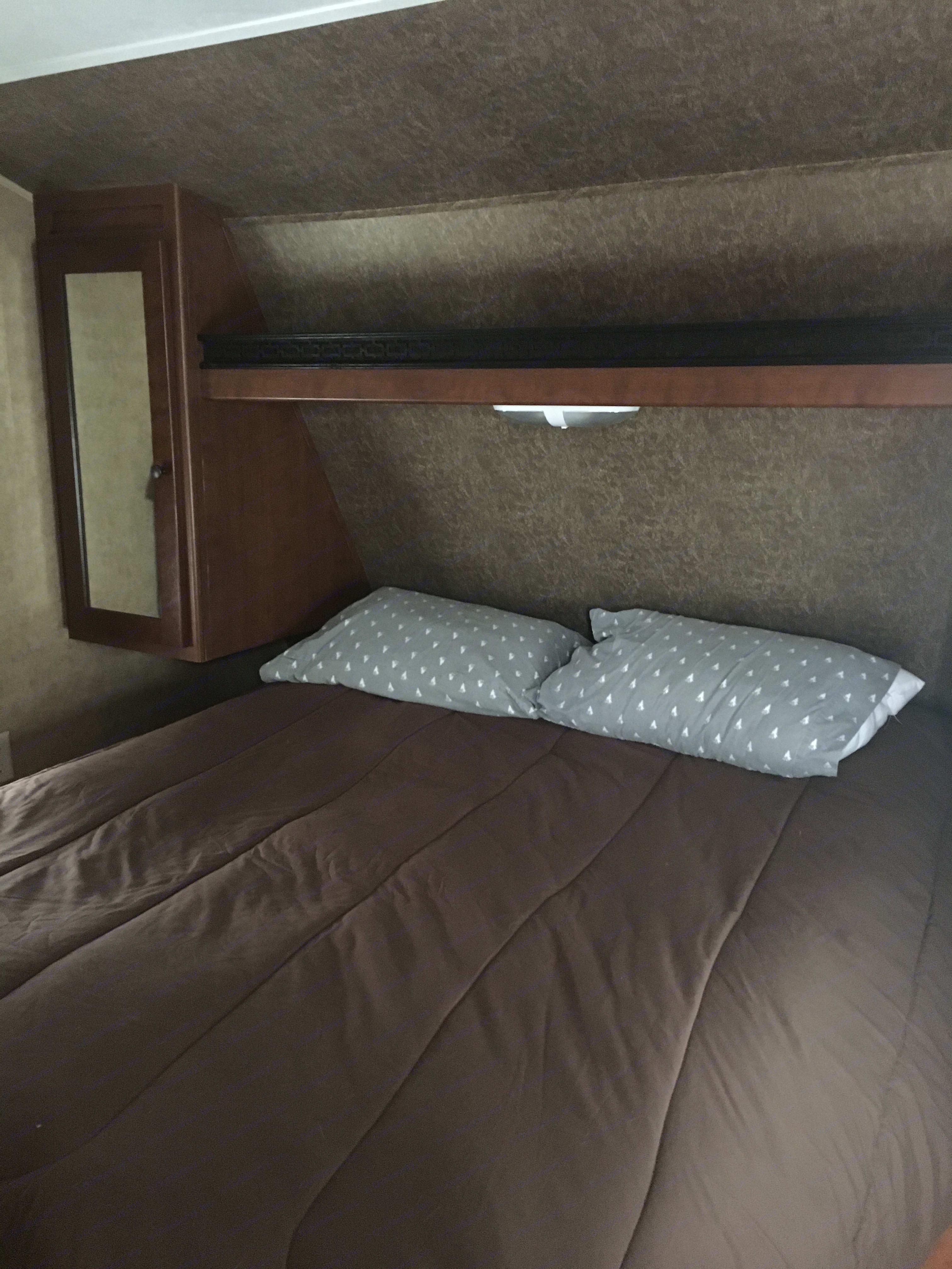 Private Master Bedroom. Dutchmen Aspen Trail 2013