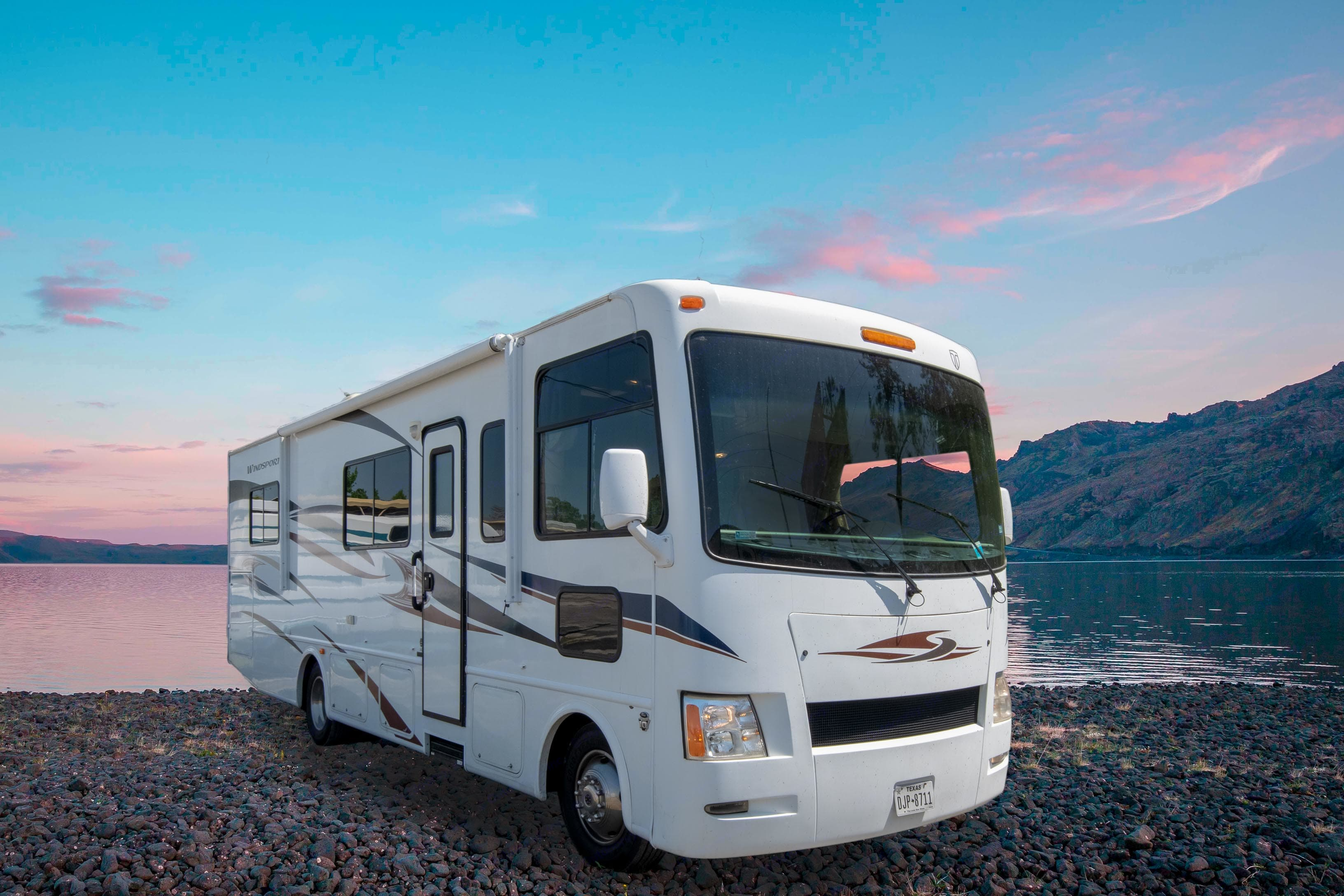 Actual RV. Changed background*. Thor Motor Coach Windsport 2012