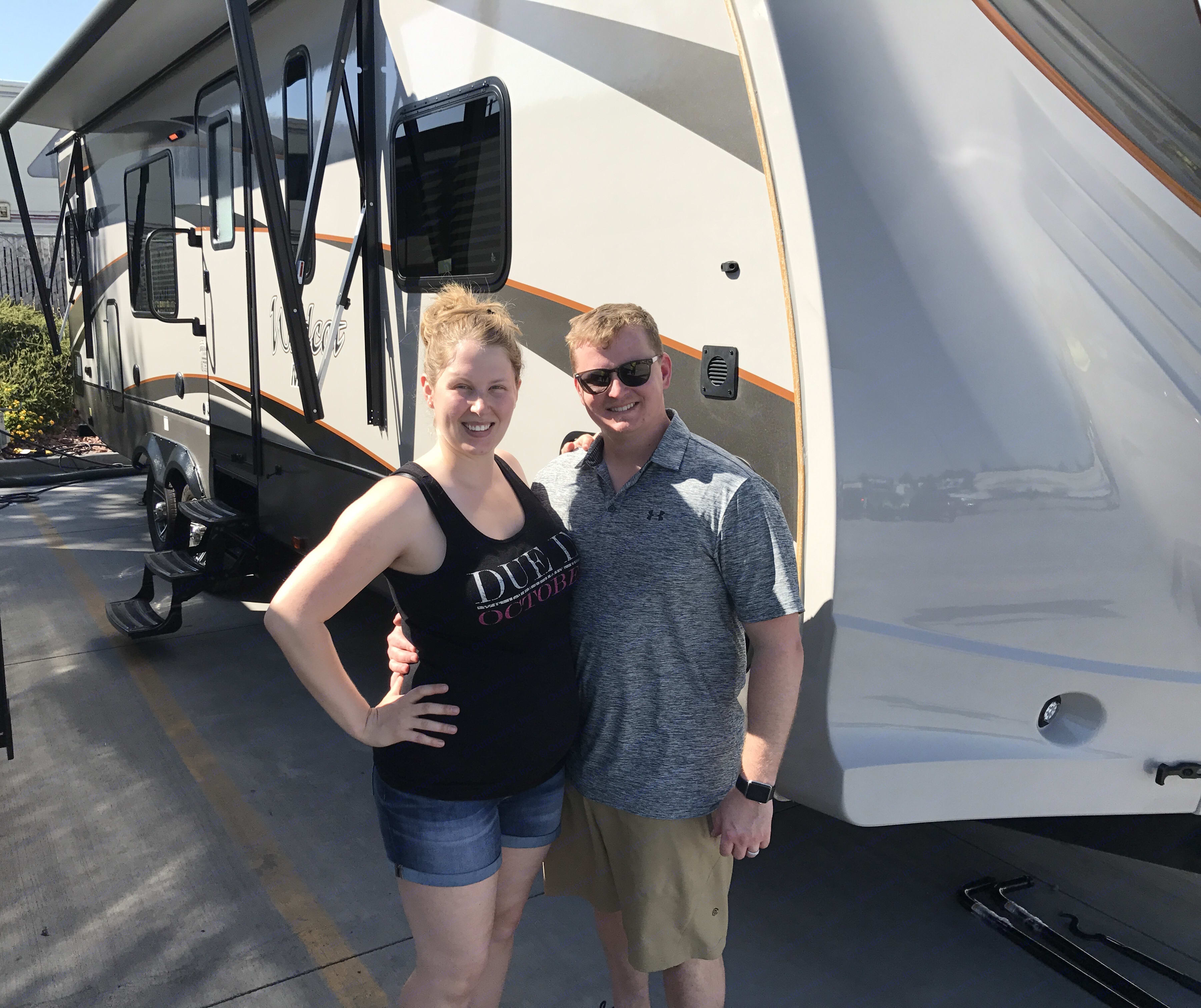 We love our RV and hope you do too!. Forest River Wildcat 2017