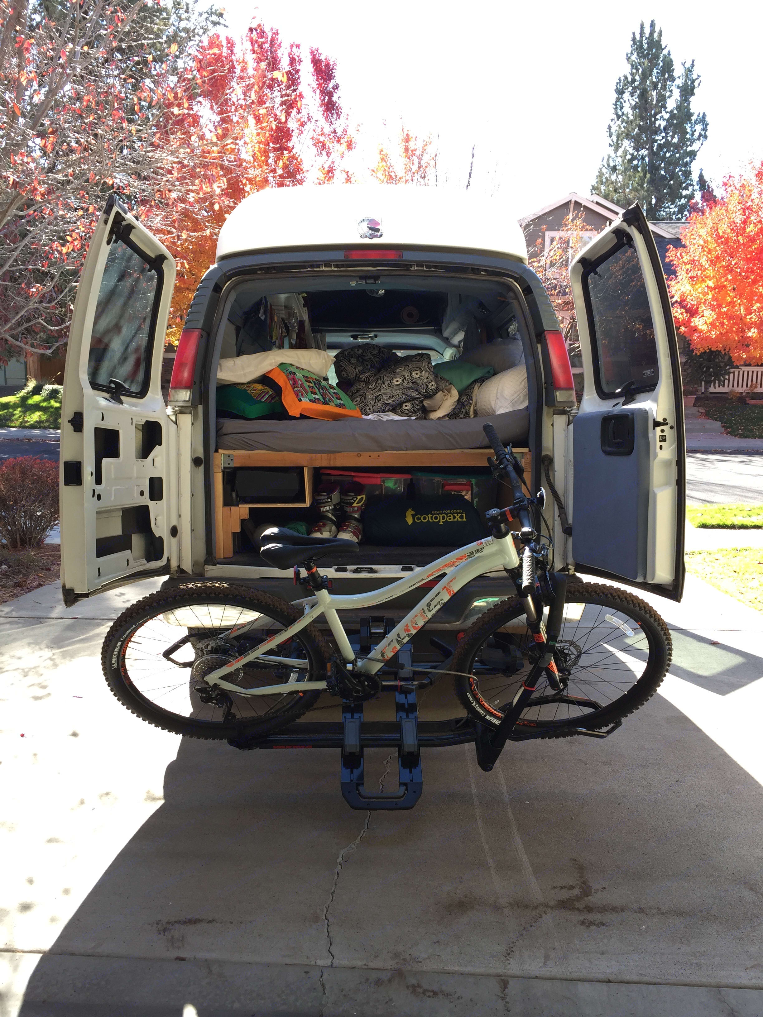 Getting ready to head out on a two month climbing trip to Utah. . Gmc Savanna 2000