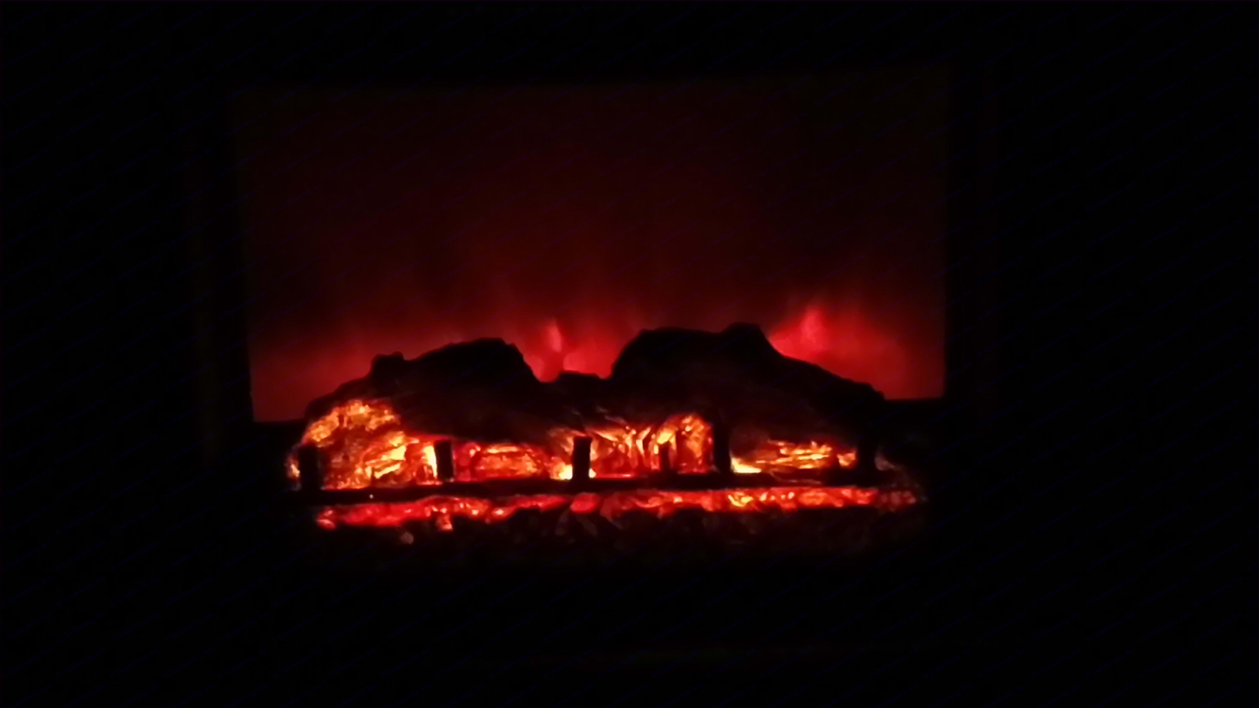 Fireplace . Forest River Salem 2017
