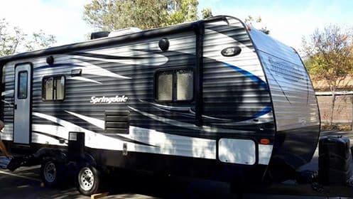 2016 Springdale travel trailer.. Keystone Springdale 2016