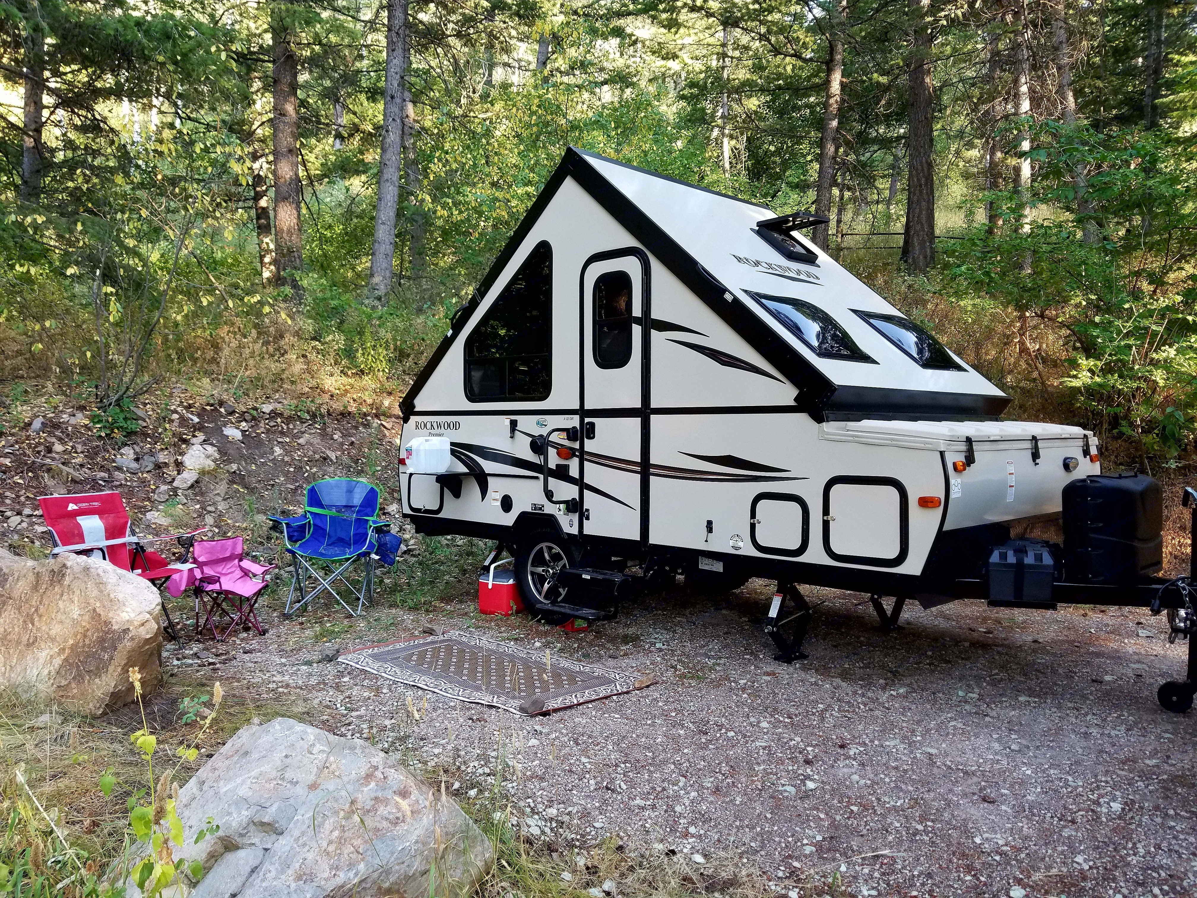 Fun pop up ready for an adventure.. Forest River Rockwood Premier 2016