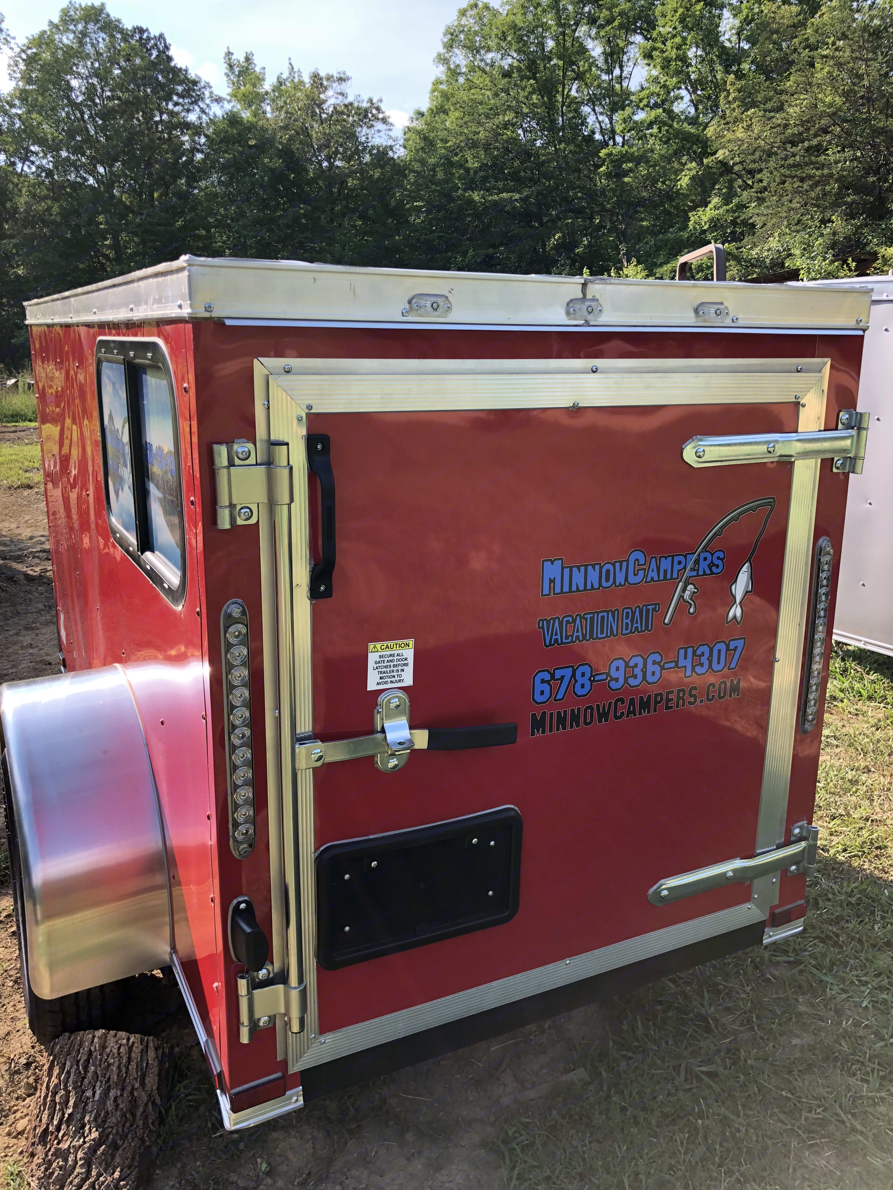 Rear entry if desired. MinnowCampers none 2018