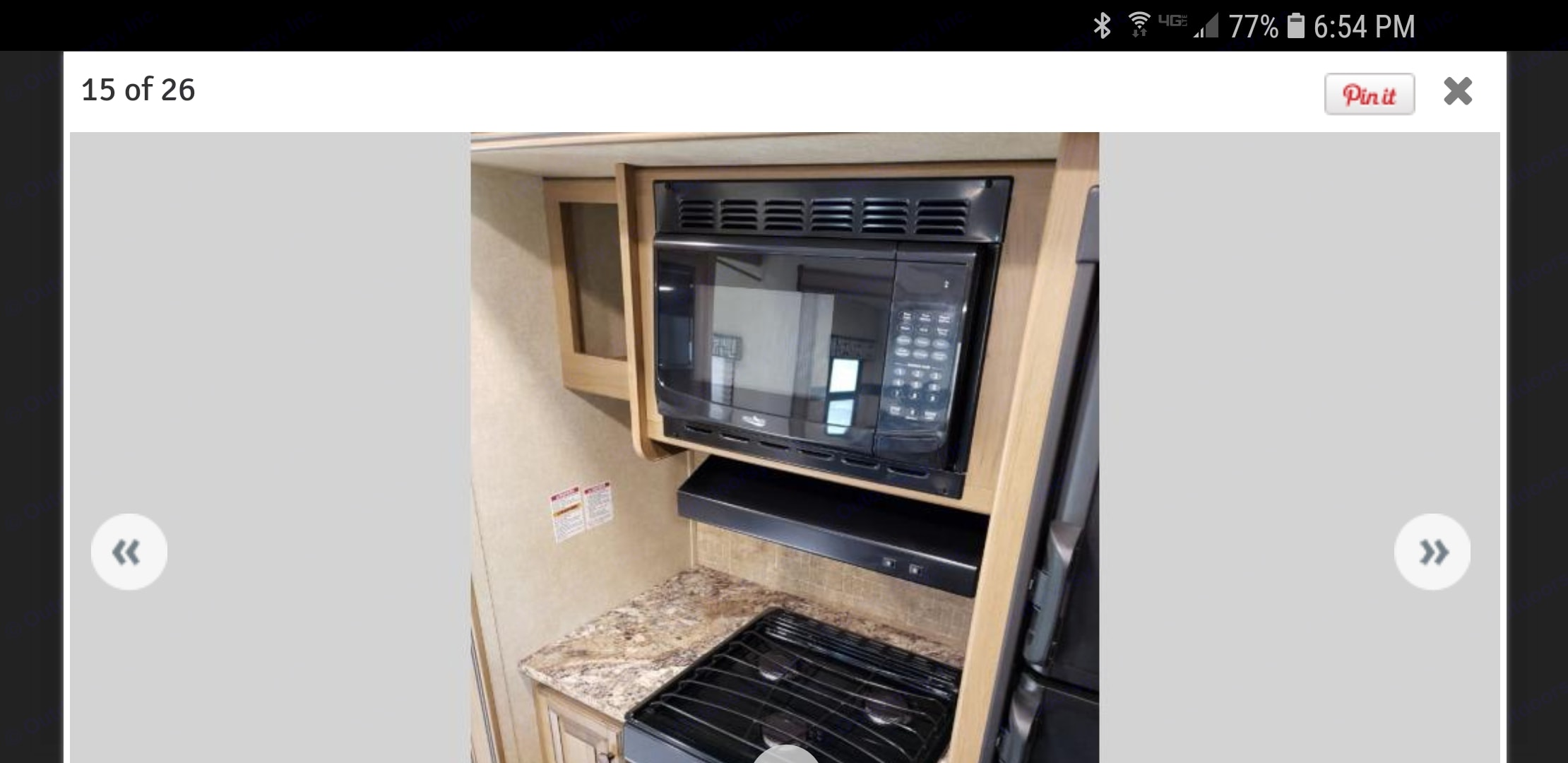 Micro and stove. Cruiser Rv Corp Stryker 2016