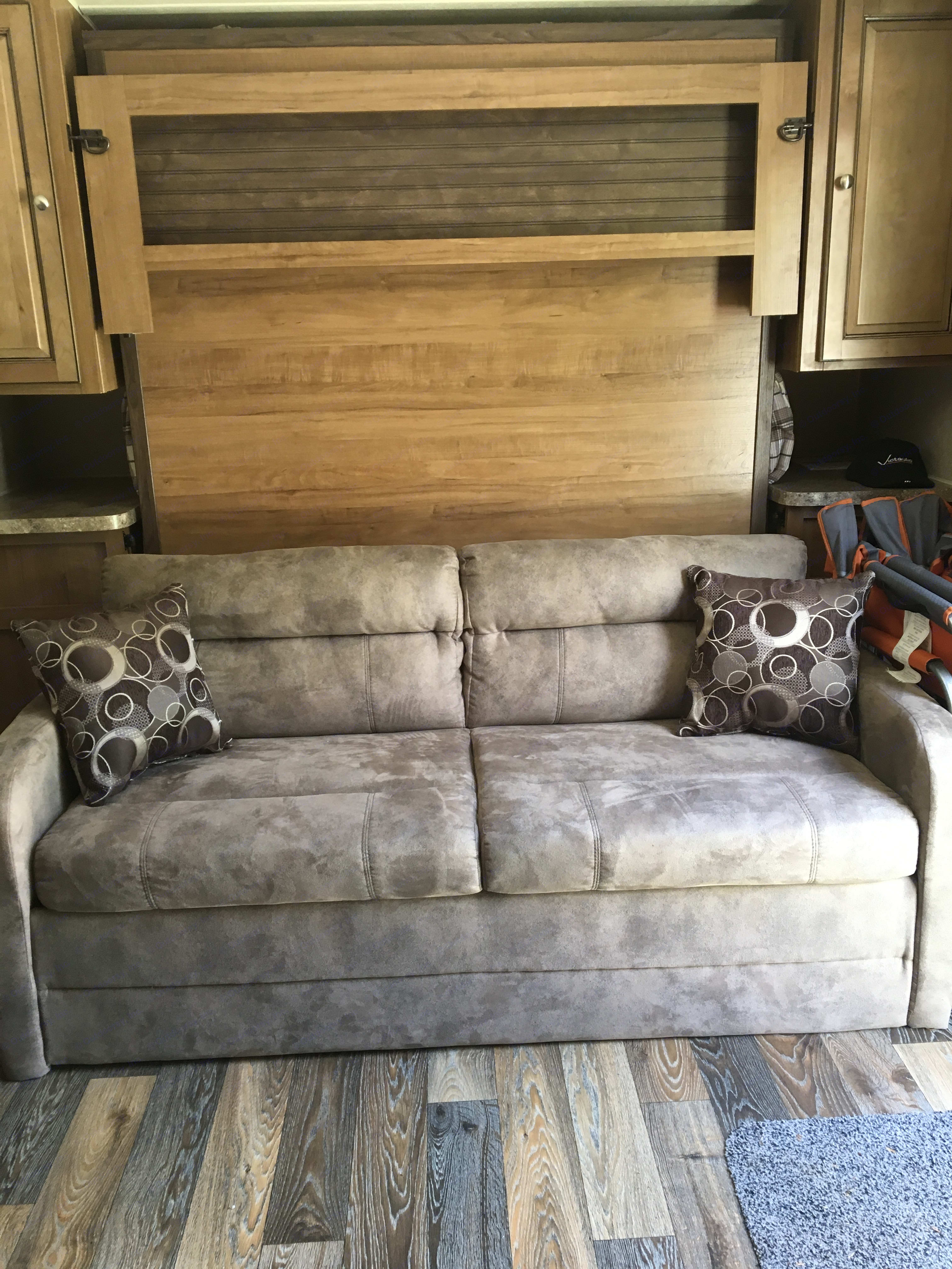 Sofa bed. Forest River Rockwood Mini Lite 2016