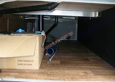 One of the storage areas. Open Range Light 2014