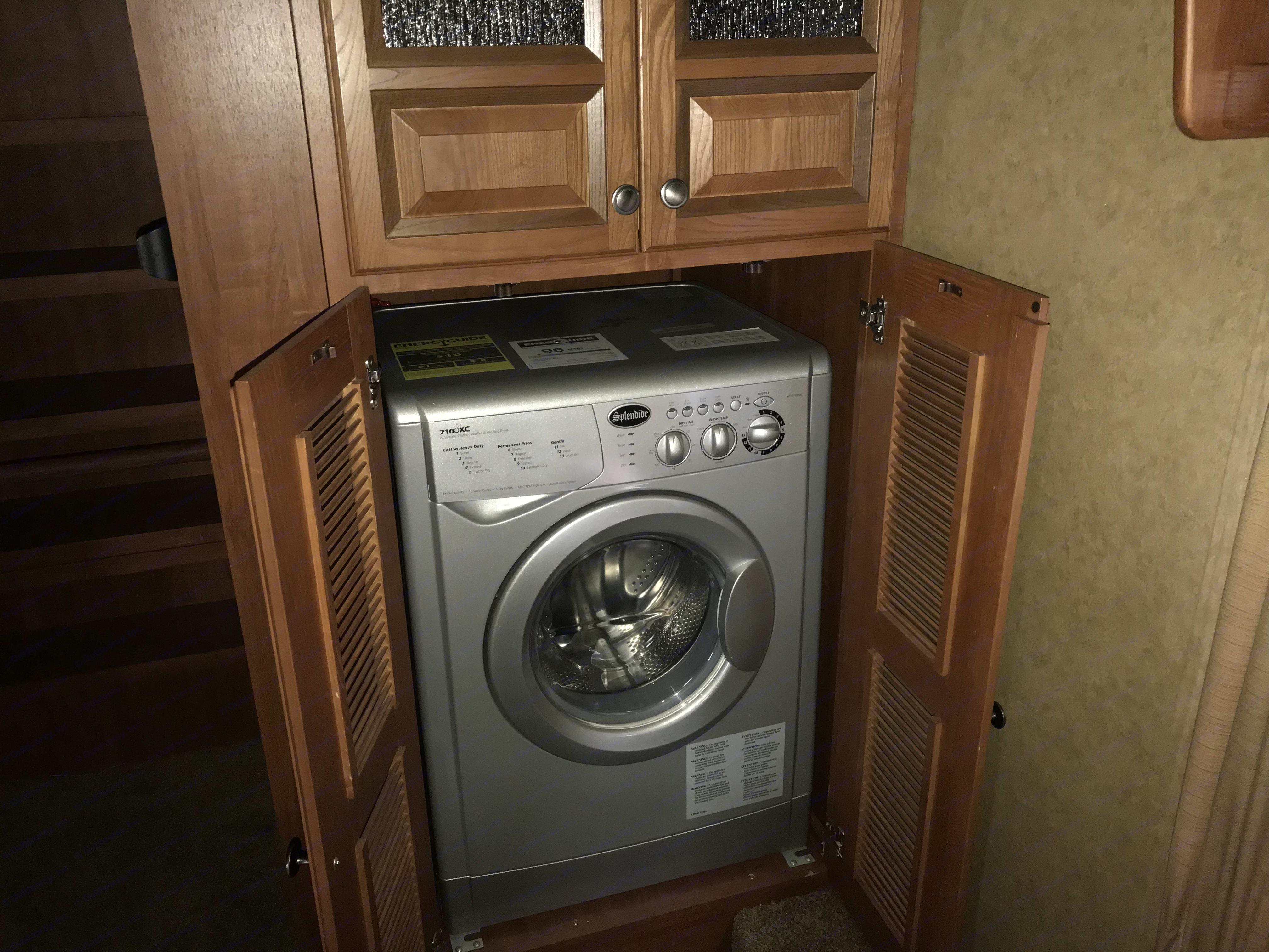 Ventless washer/dryer. Jayco Eagle 2013