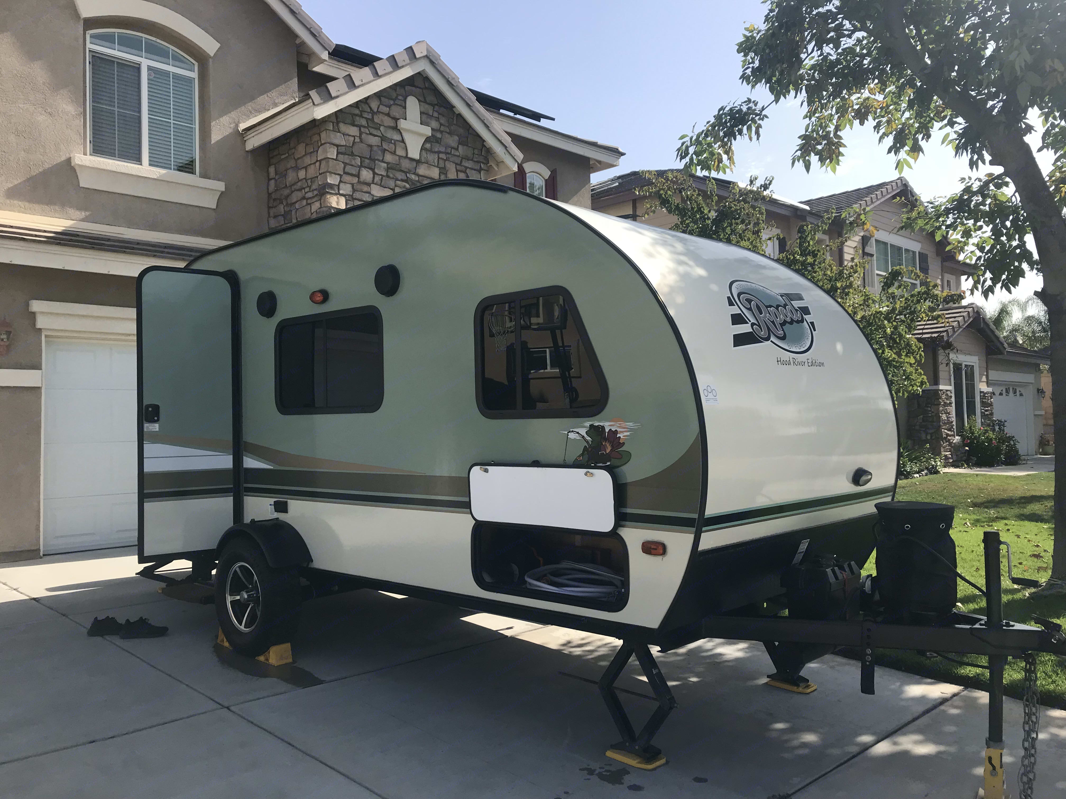 All Clean for the next trip. Forest River R-Pod 180 2016