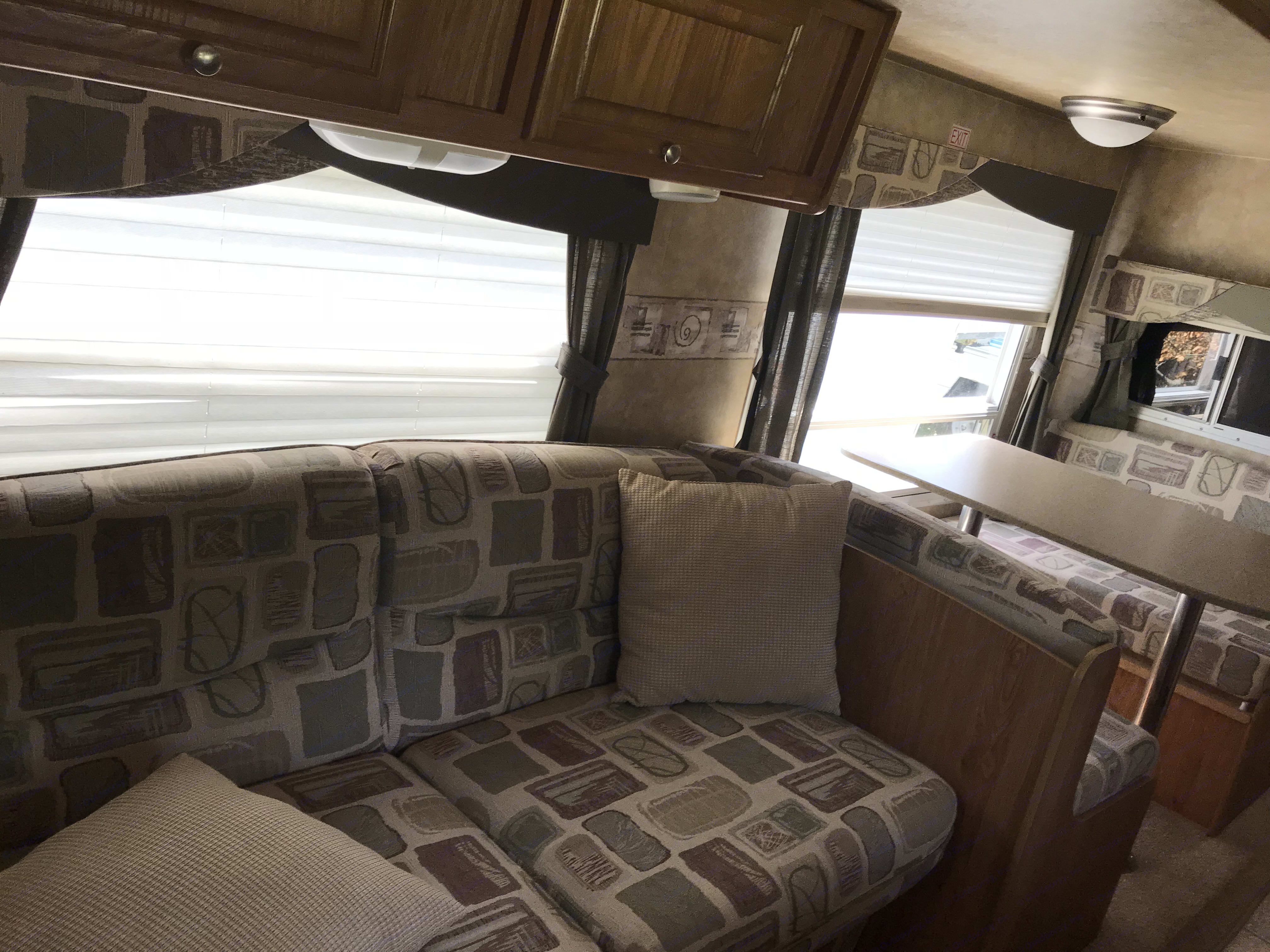 Spacious slideout!. Jayco Jay Feather 2007