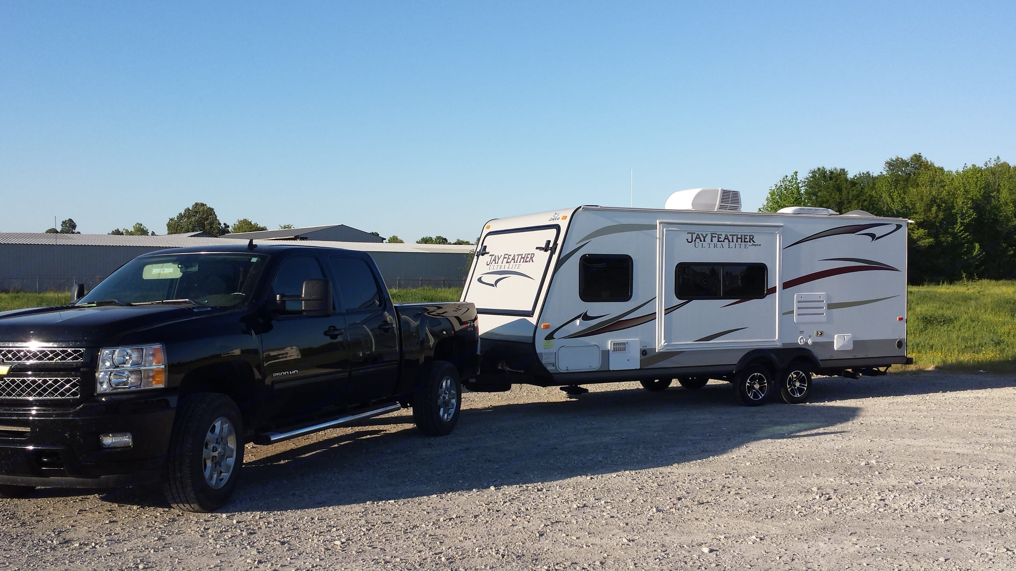 Truck not for rent. Jayco Jay Feather Ultra Lite 2014