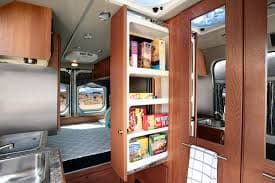 Convenient slideout pantry. Roadtrek Simplicity 2 2018