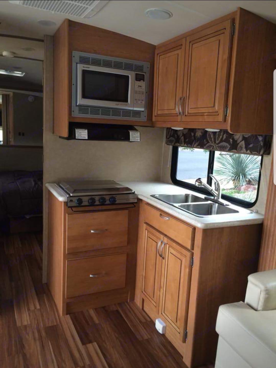 Kitchen. Holiday Rambler Augusta 2013