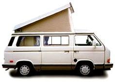 Stock image. Volkswagen Westfalia 1989