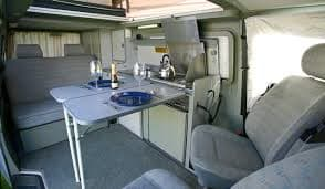 dining tables . Volkswagen EuroVan/Weekender 1998