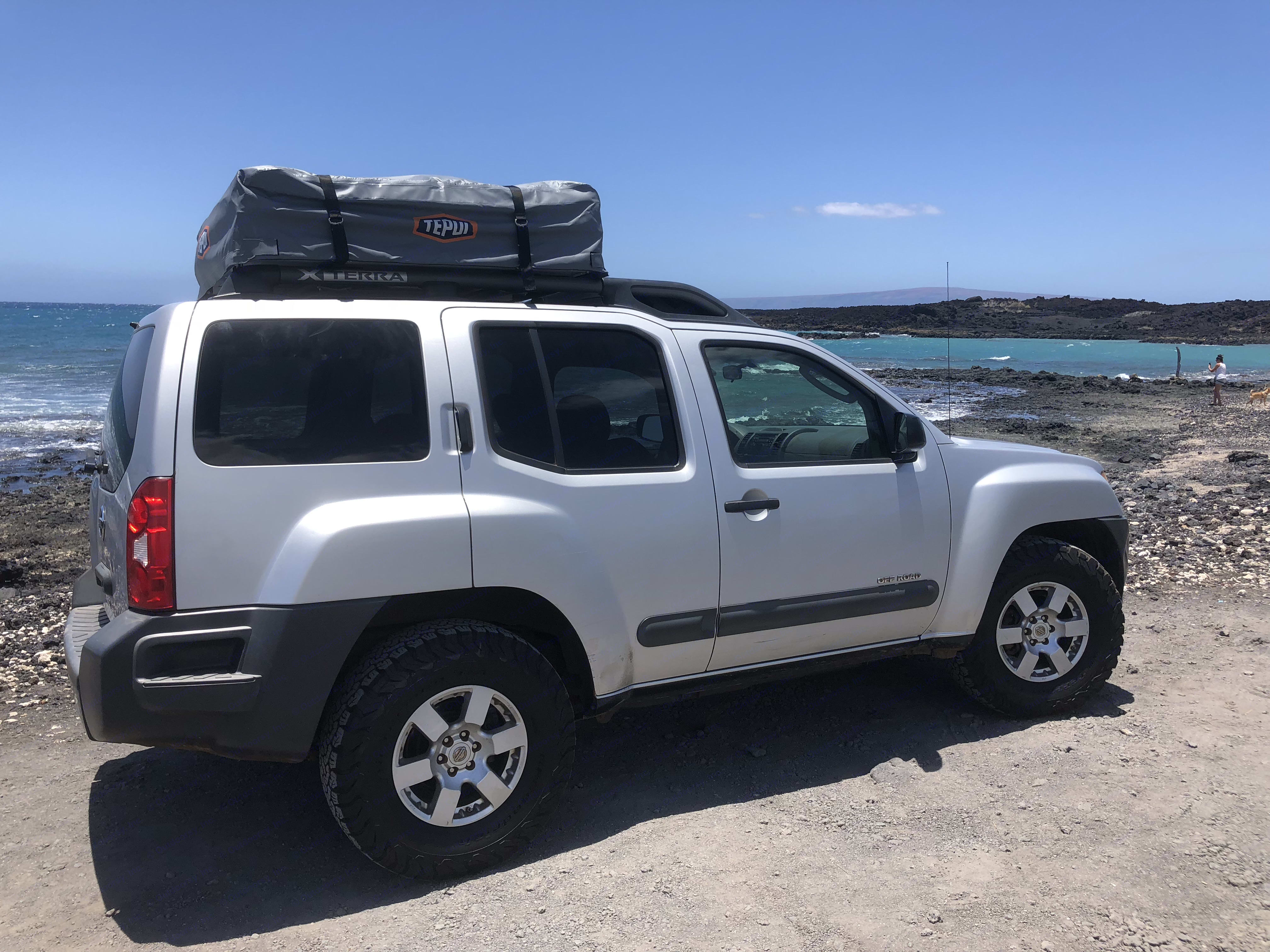 you can have your Tepui hale (house) up in no time! quick, convenient, comfortable..adventurous!!!. nissan Xterra 4x4 off road sport utility 4D 2008