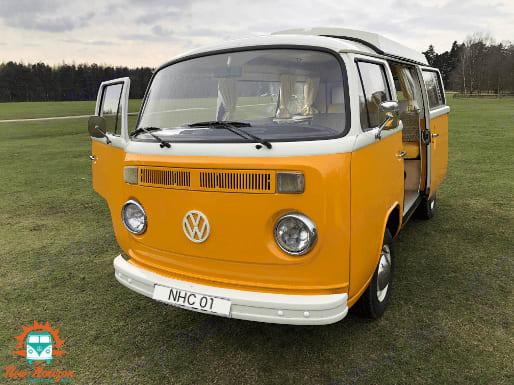 Bessie, our late bay camper.. Volkswagen T2 1977