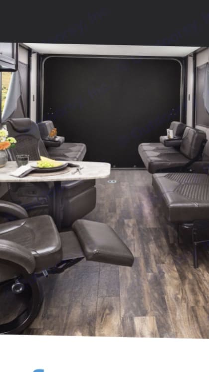Living/Eating Area. Jayco Octane 2017