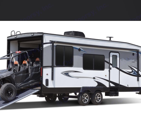 Beautiful Lite Weight Design and Easy Loading for all your Toys. Jayco Octane 2017