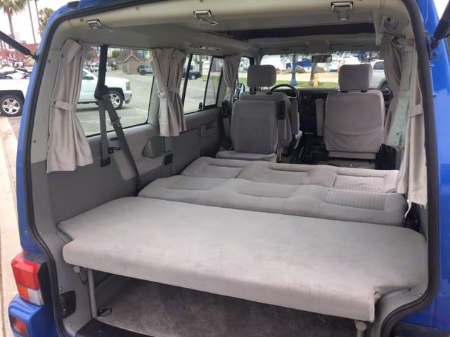 Lots of room for sleeping and storage.. Volkswagen Westfalia 2002