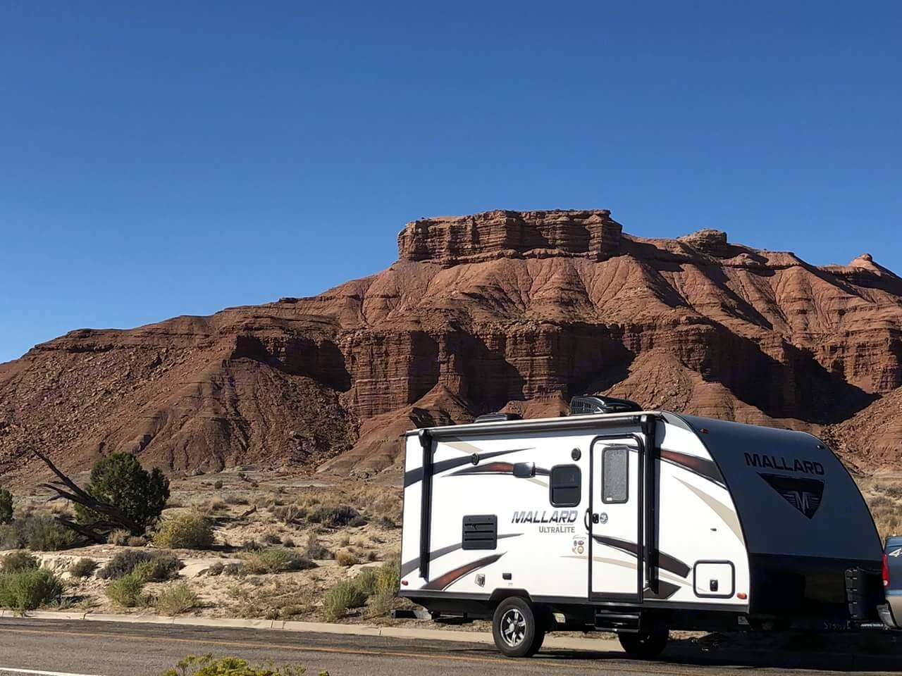 One of our renters sent us this fabulous photo of our RV. Heartland Mallard 2018