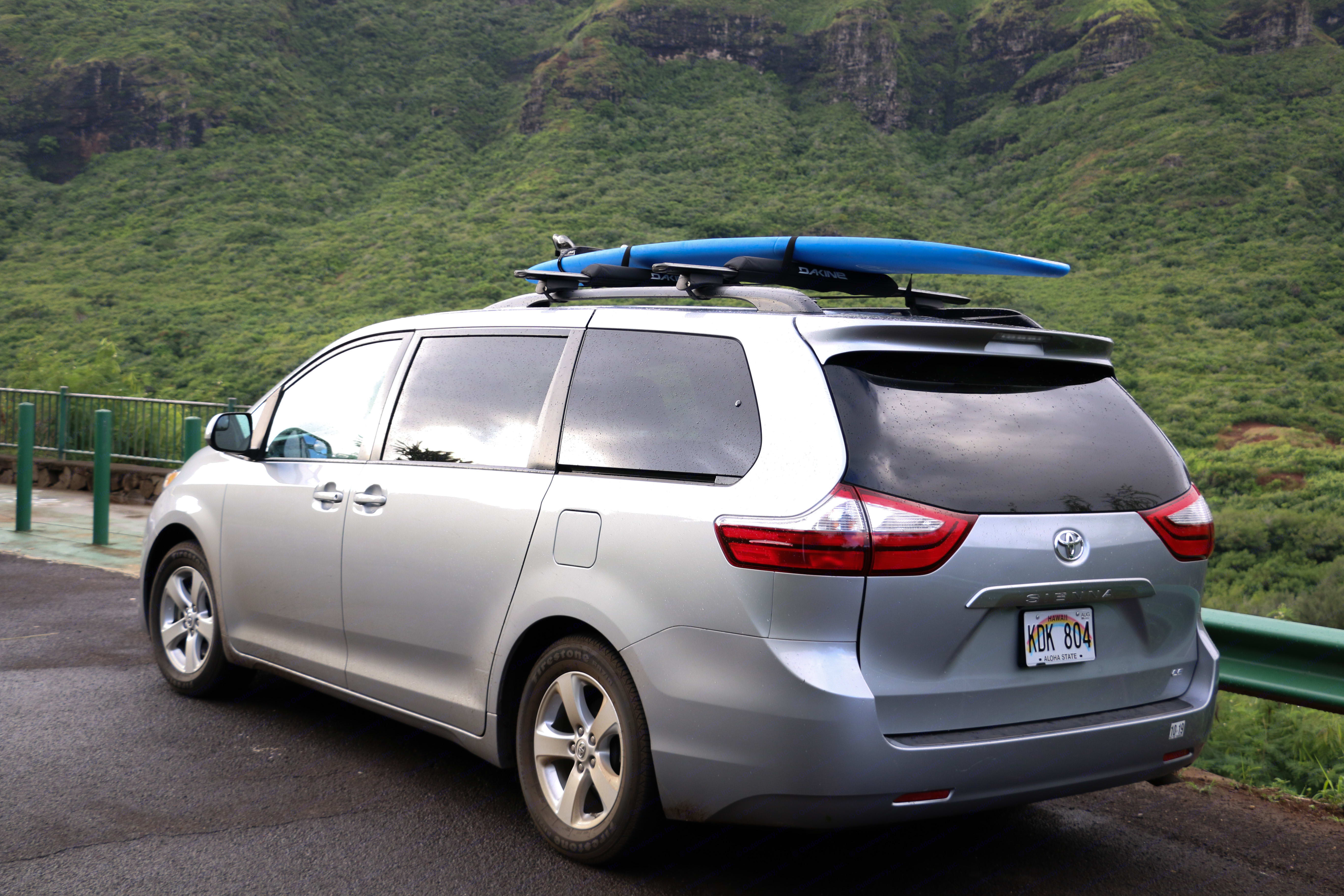 We offer surfboard and SUP board rentals by the week! Just $50 and we'll hook you up with a beginner board to use. . Toyota Sienna 2015