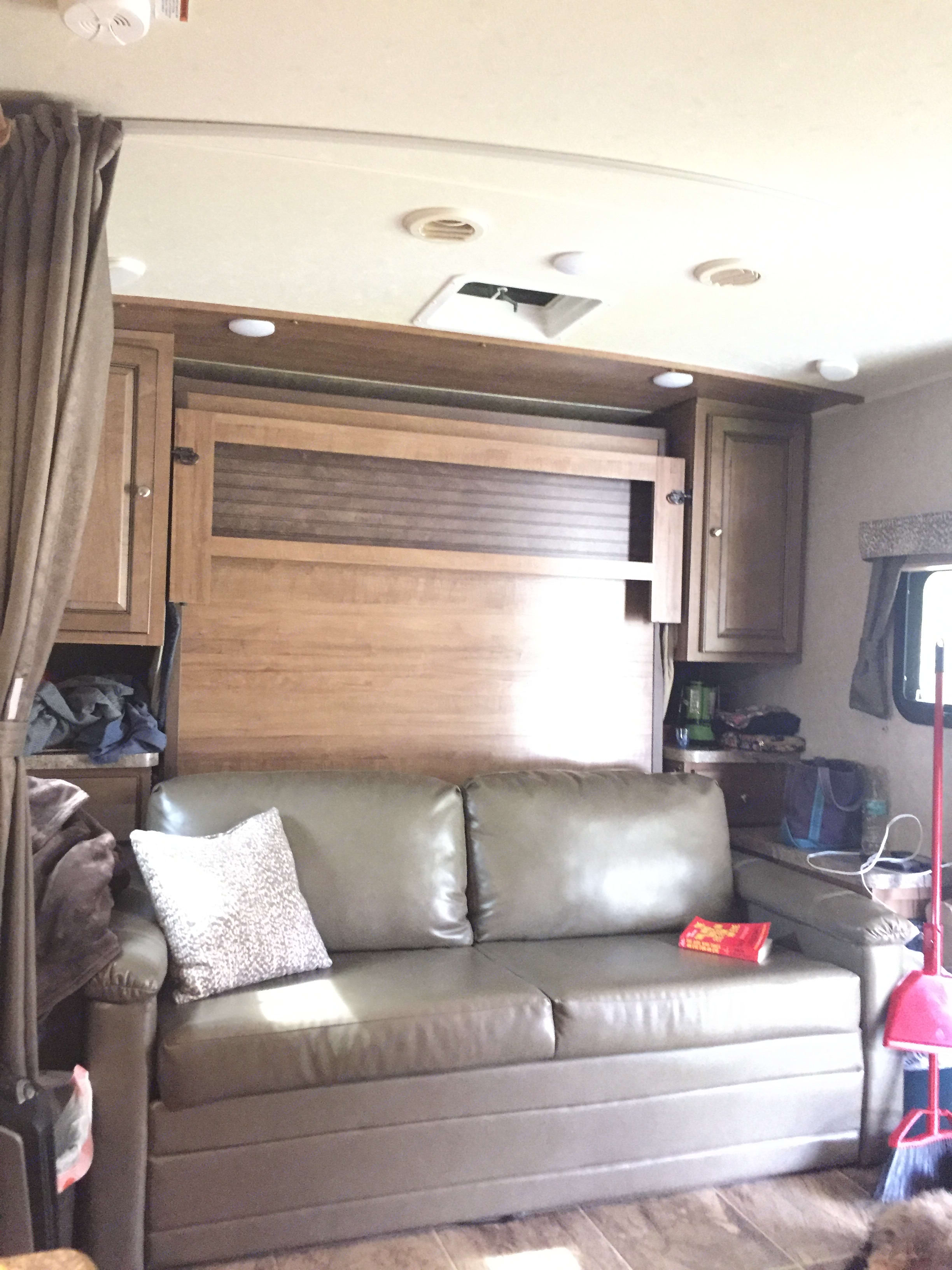 Murphy bed ,couch. . Forest River Rockwood Mini Lite 2017