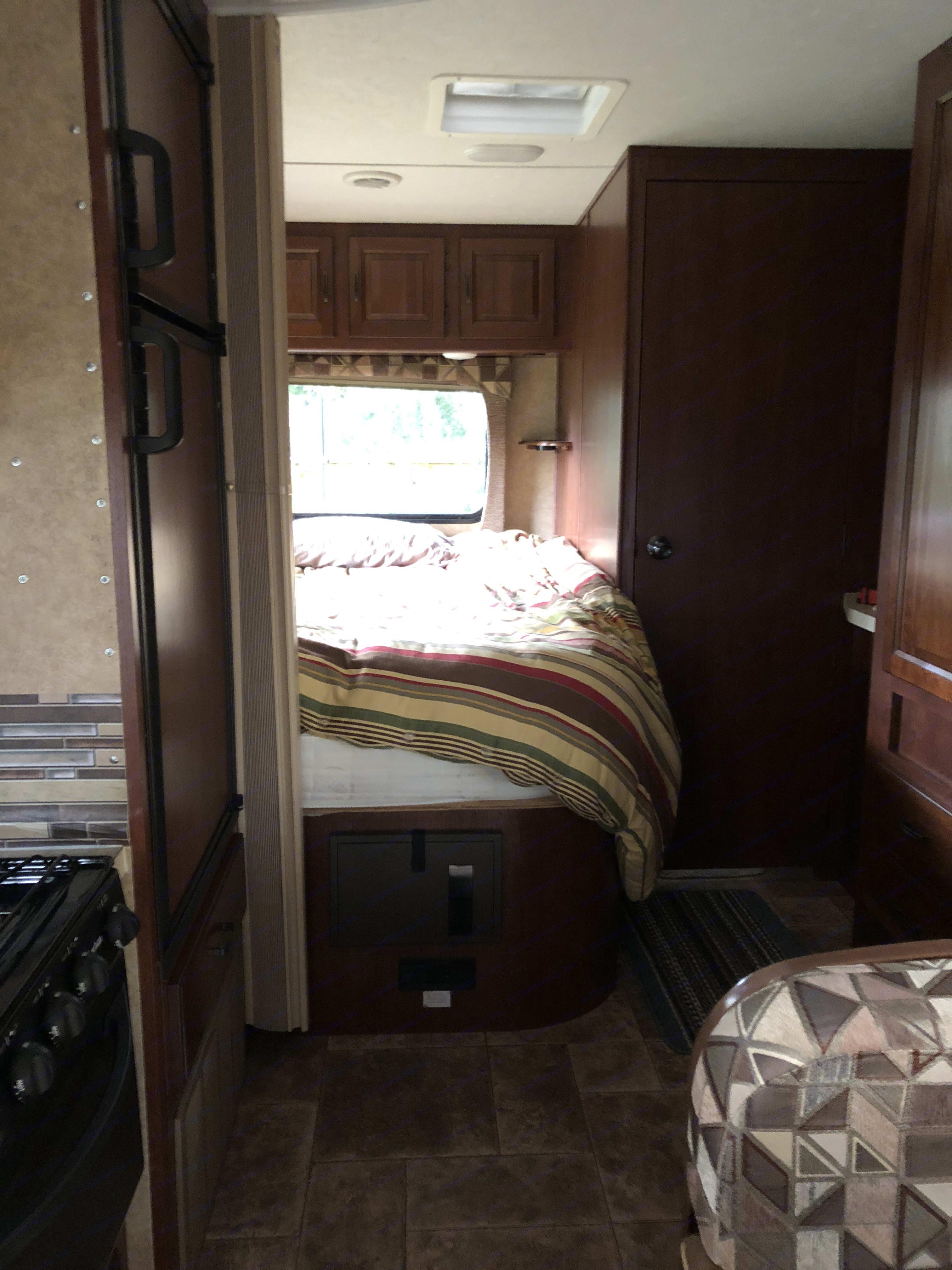 Bedroom. Forest River Sunseeker 2015