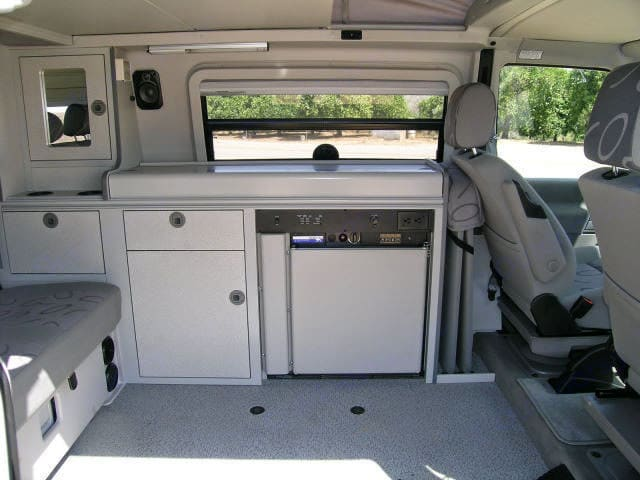 The well-thought-out interior design means everything has its a place. You won't be constantly shuffling gear. . Volkswagen Eurovan Camper 2003