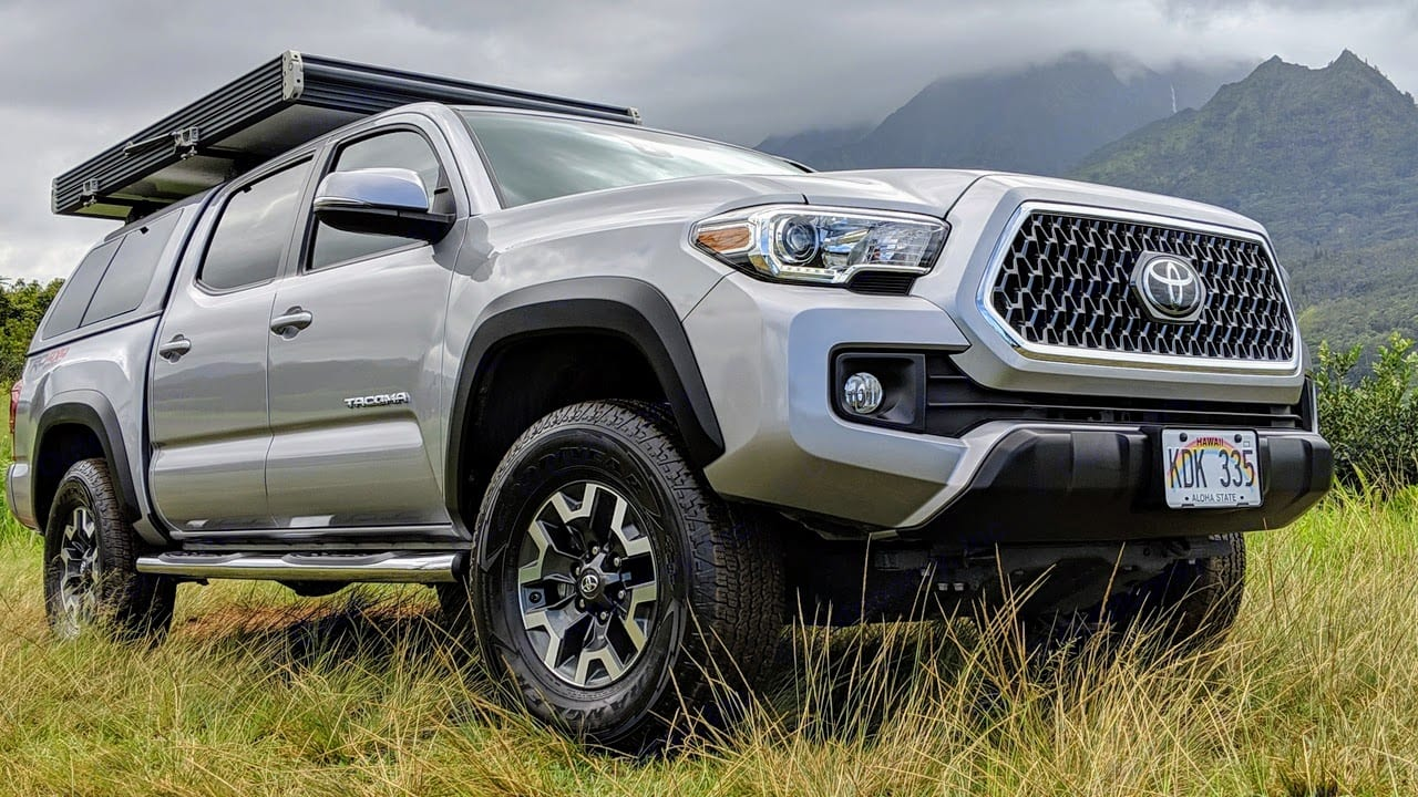 2018 Toyota Tacoma TRD Off Road with a GFC Rooftop Tent. Toyota Tacoma 2018