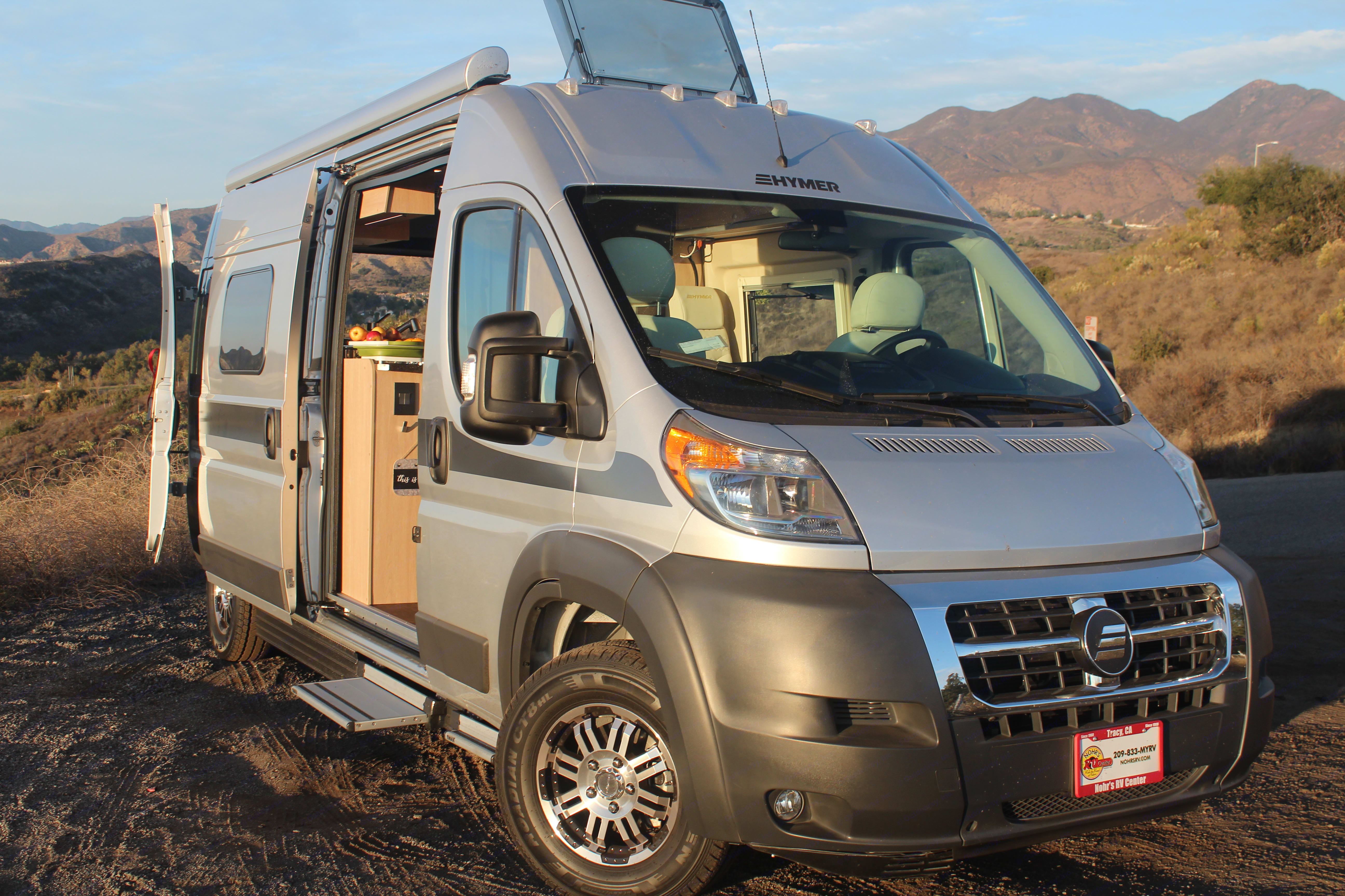 Your off-grid adventure awaits!. Hymer Aktiv 1.0 2018