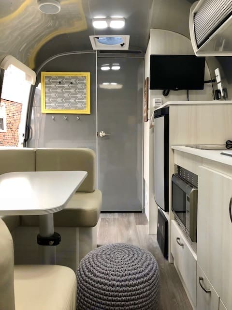 All the conveniences you need presented in a clean and modern manner.. Airstream Sport 2018