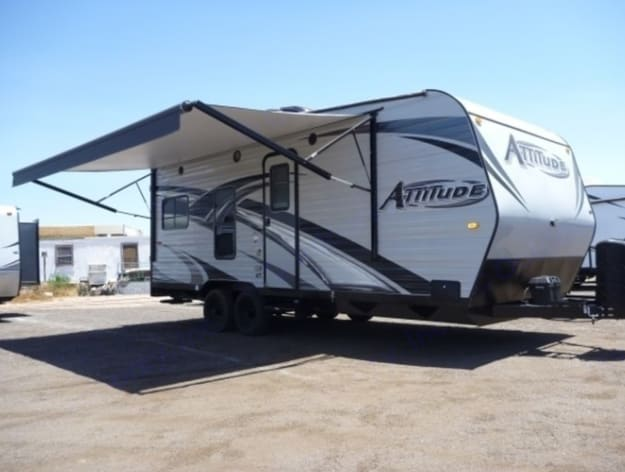 Clean and convenient. Take this and your toys out for some fun. Eclipse Recreational Vehicles Attitude 2014