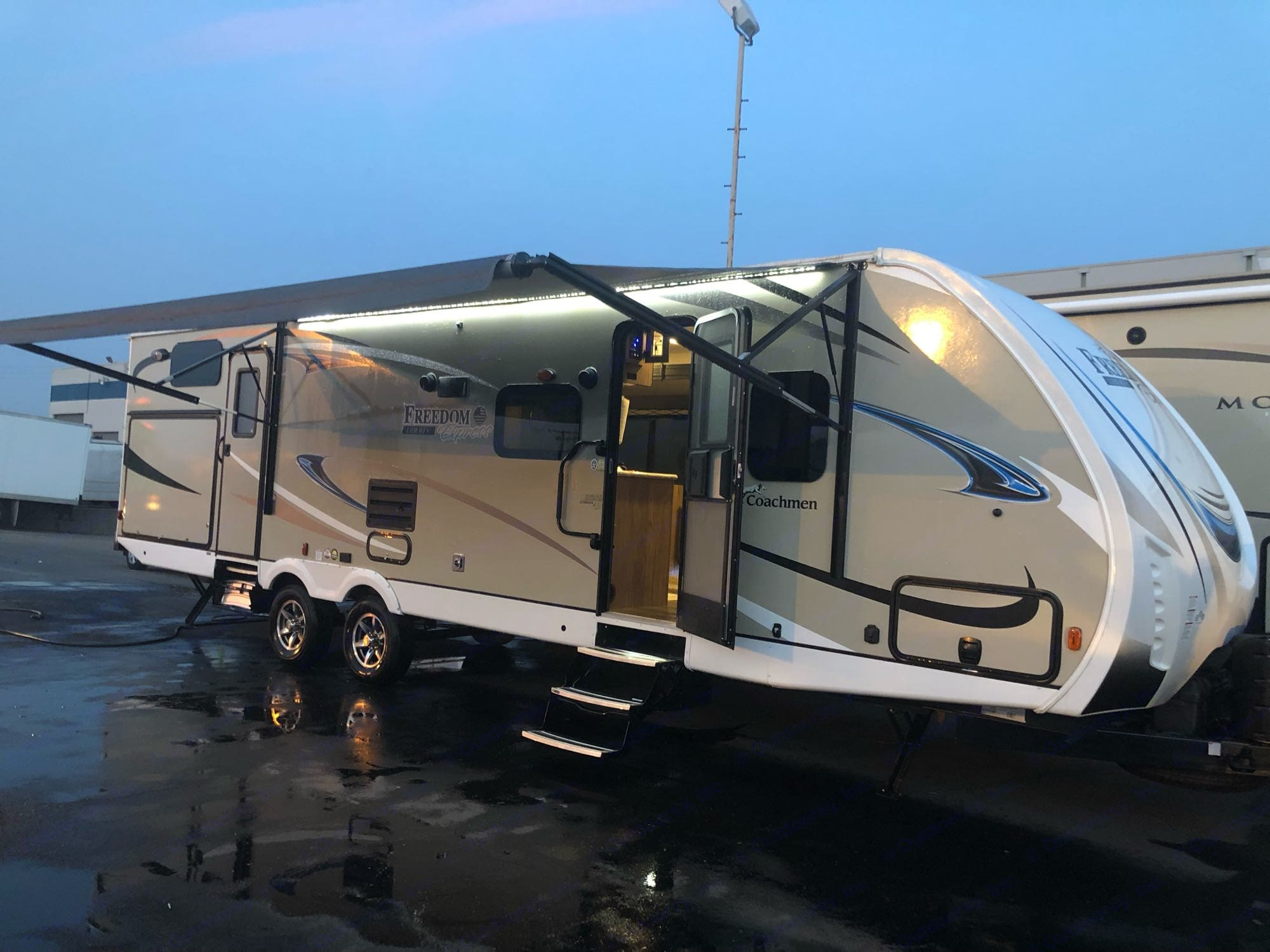everything you would want built in! . Coachman Freedom liberty express 2018