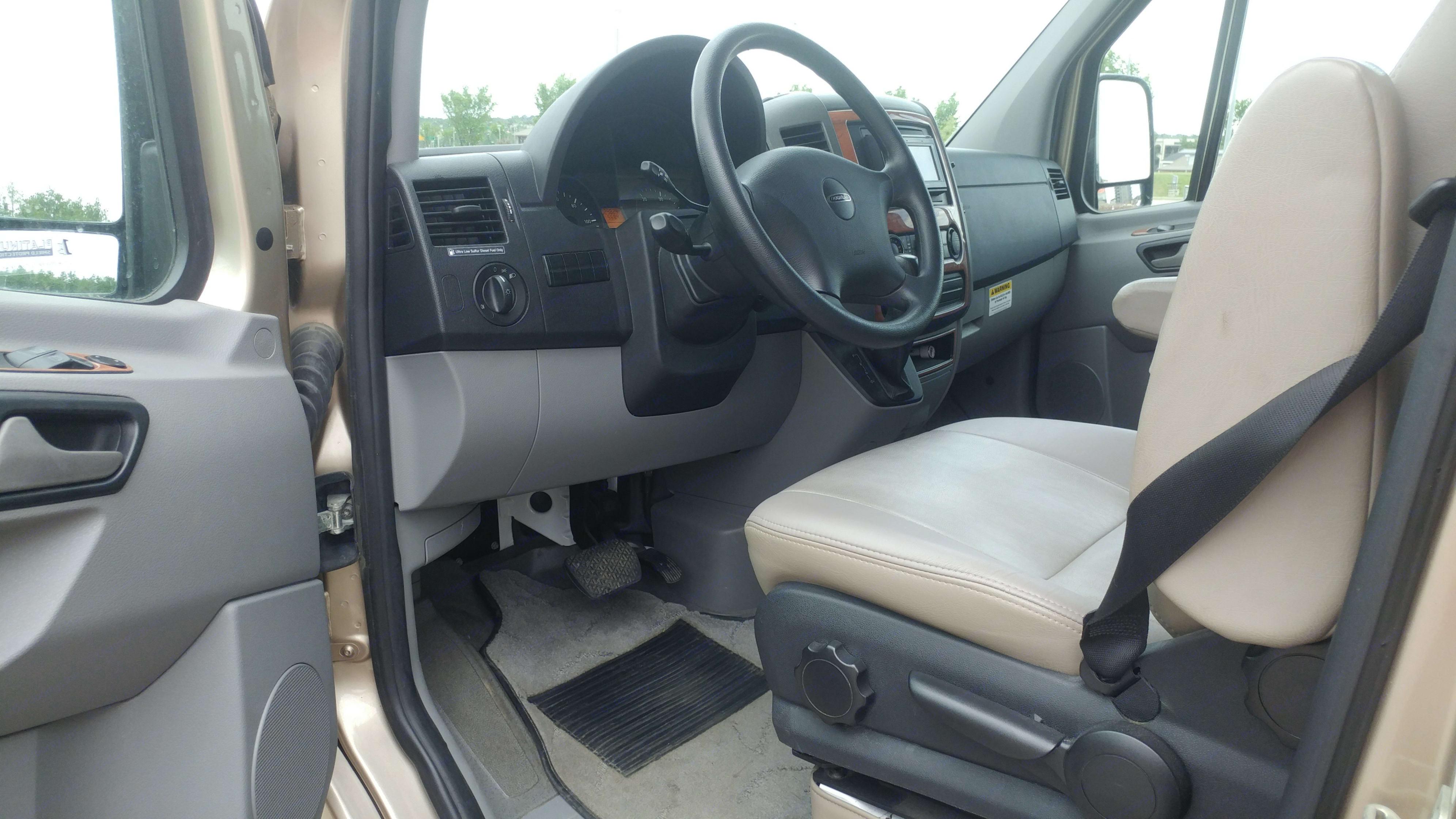 Driver's Side with Door Open.. Roadtrek Ss Ideal 2010