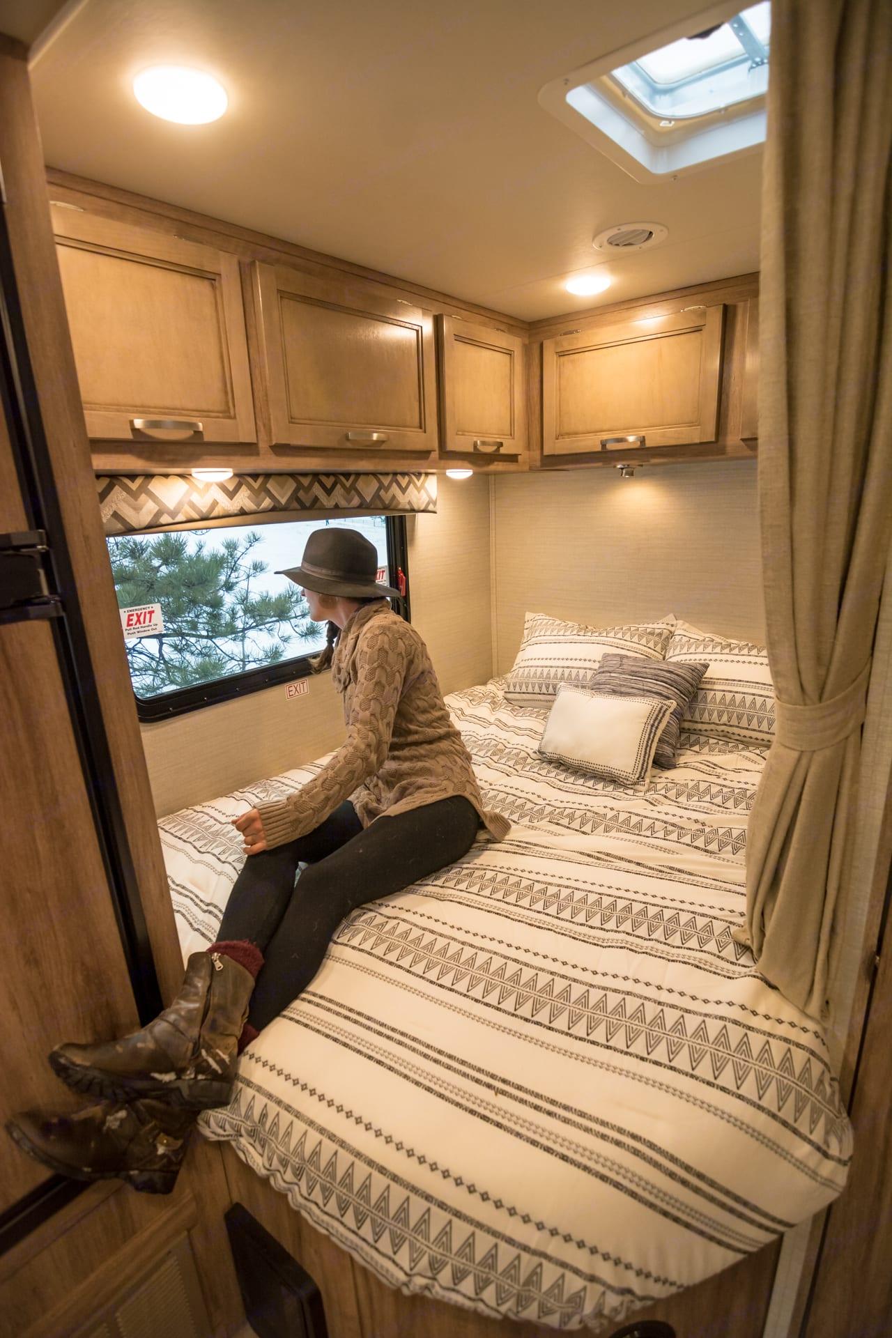 Stunning bedroom views.. Jayco Redhawk 2019
