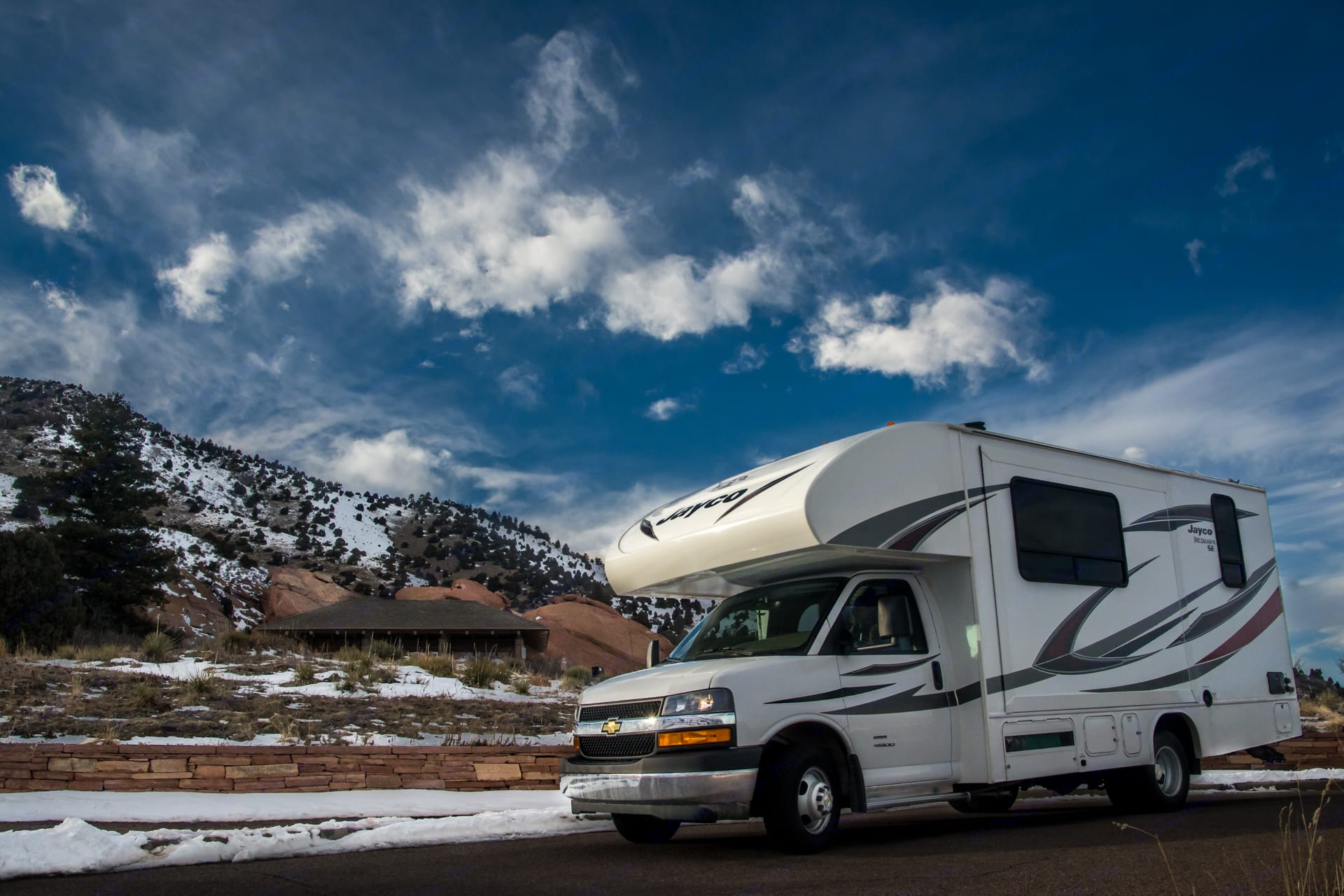 Handles well with a brand new engine and cab.. Jayco Redhawk 2019