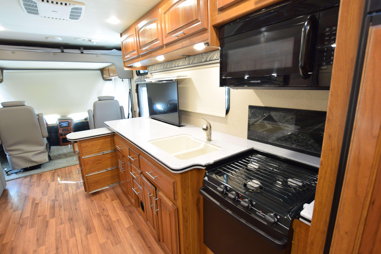 Kitchen area. Jayco Precept 2016