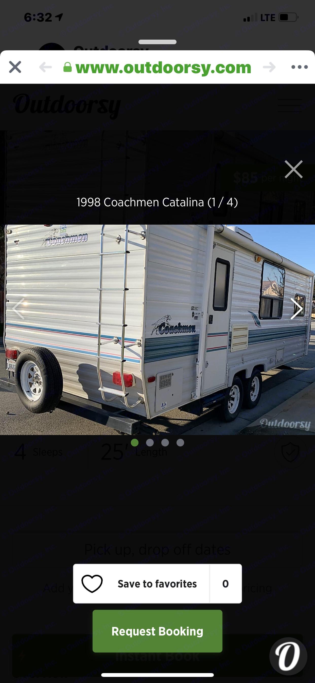 Coachmen Catalina 1998
