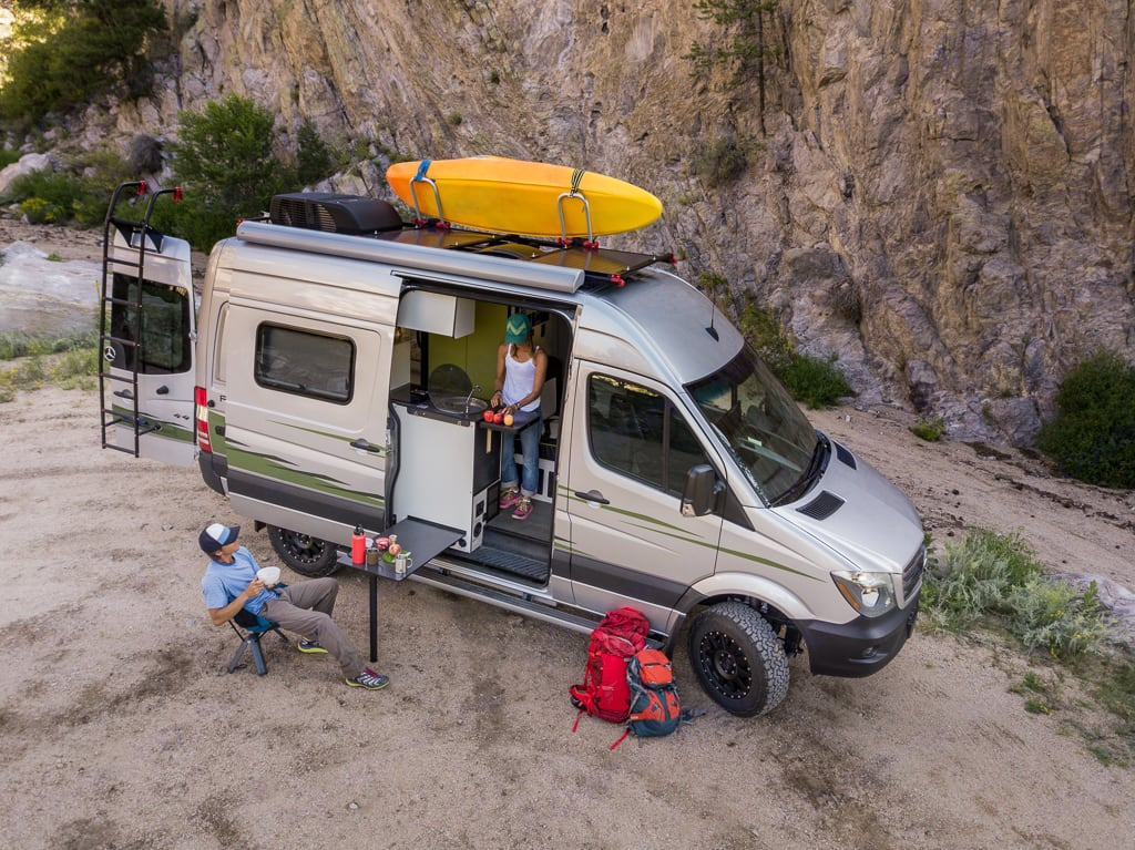 A fully loaded adventure mobile that sleeps up to four.. Mercedes-Benz Sprinter 2019