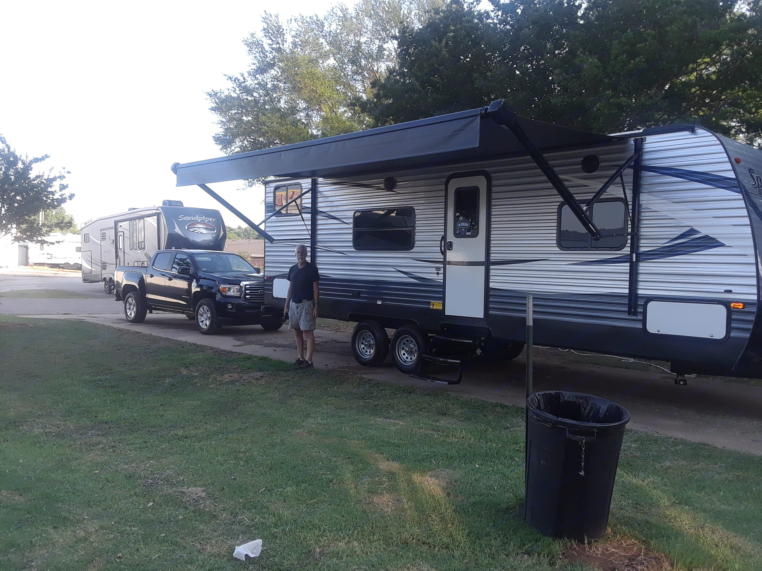 The truck doesn't come with it. Or the handsome man standing in front. . Keystone Springdale 2018
