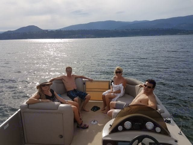 Sylvan Patio Pontoon Boat 2016