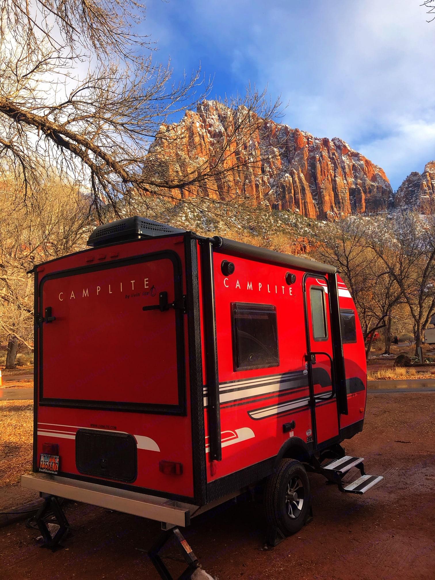 At Zion National Park, southern Utah. . Livin' Lite Camplite 2018