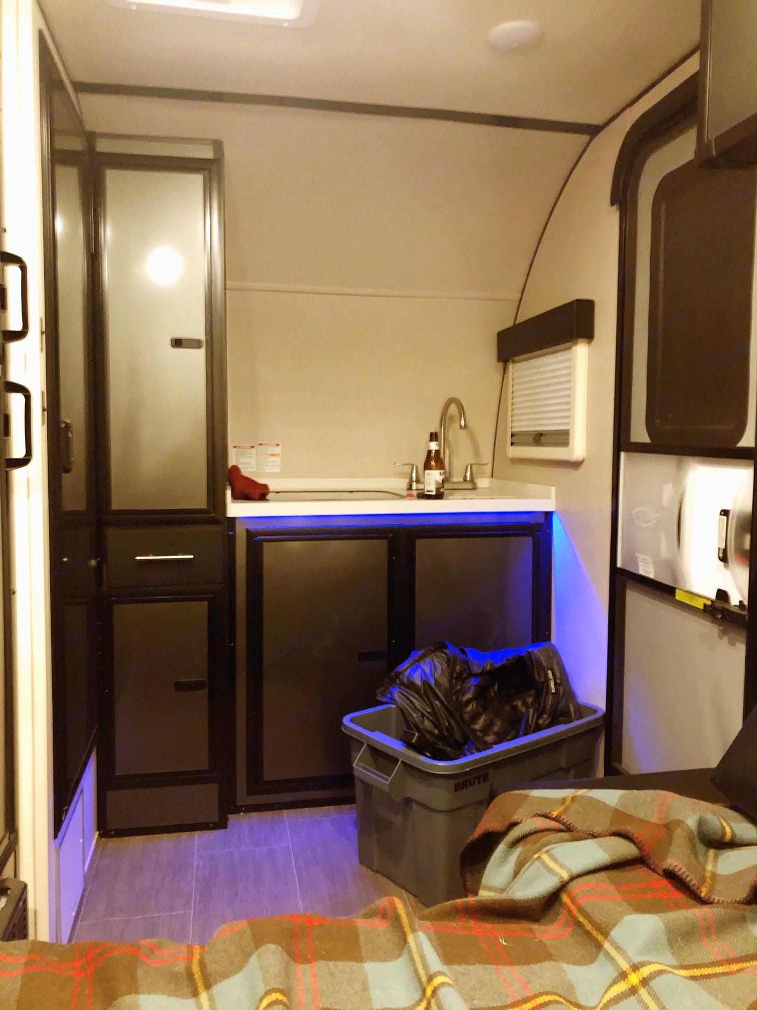 Kitchen area. . Livin' Lite Camplite 2018