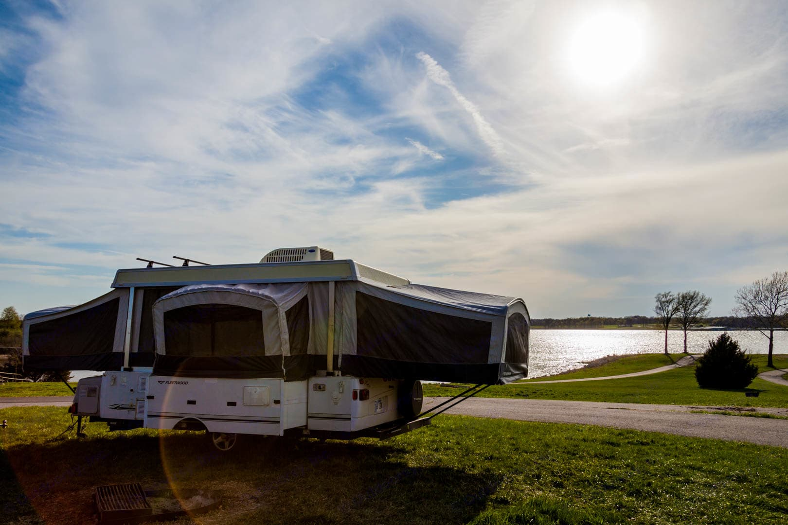 25' Fully Expanded!. Fleetwood Americana Williamsburg 2008
