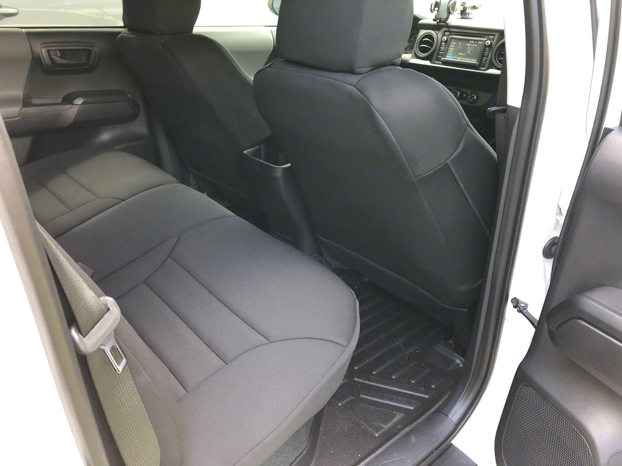 Back seats. Toyota Tacoma 2019
