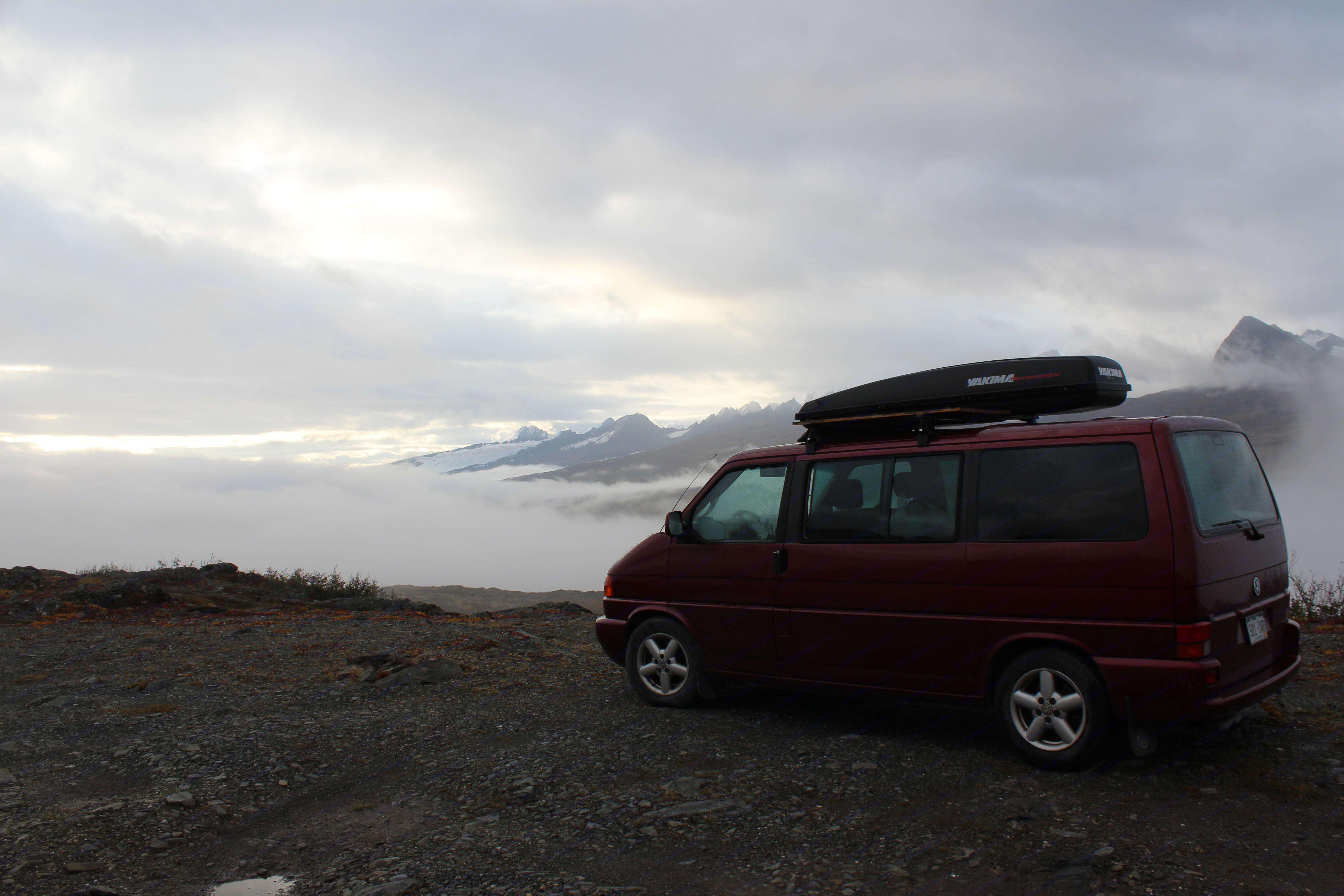 Legendary Thompson Pass. Volkswagen Eurovan 2001