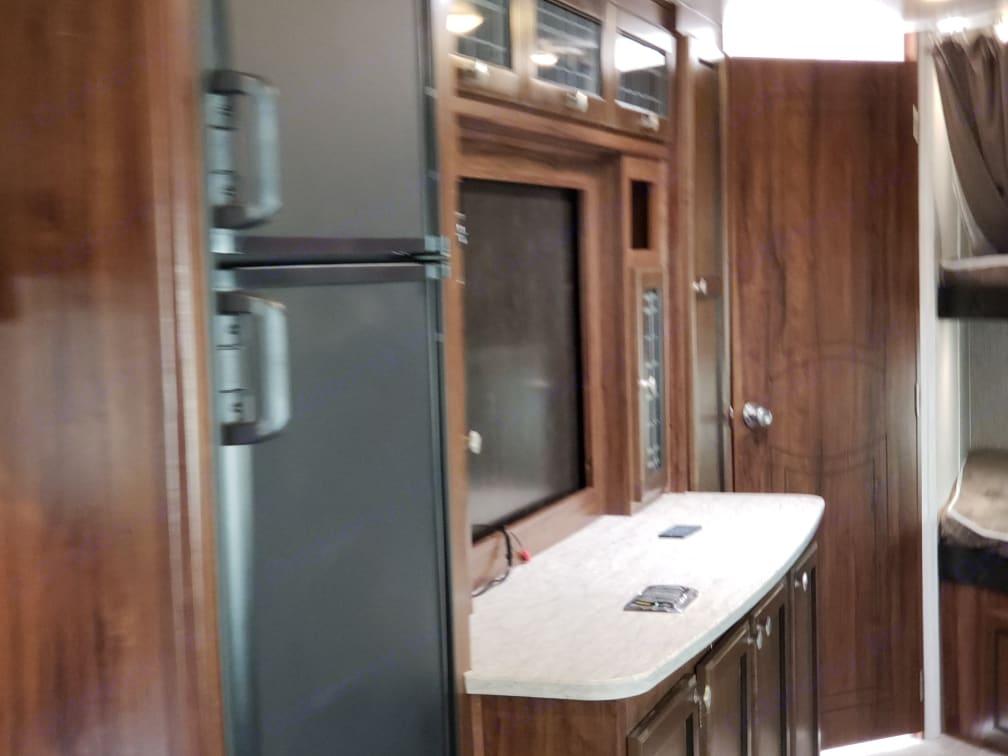 Indoor fridge and freezer. Heartland Mallard m312 2019 2019