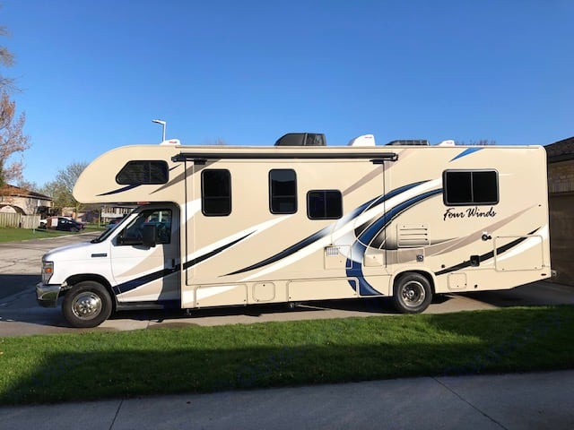 2018 28Z Class C Motorhome. Thor Motor Coach Four Winds 2018