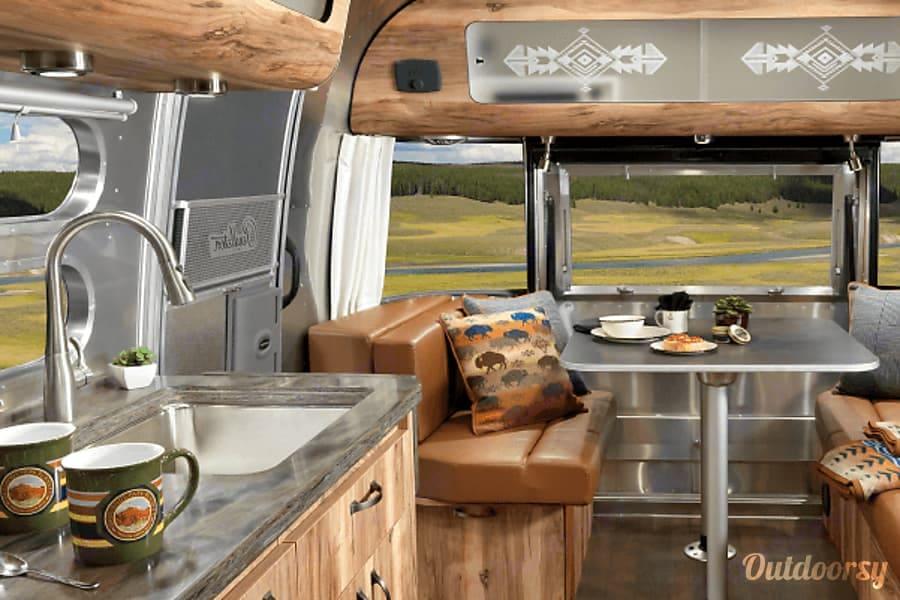 Rear Hatch. Airstream Pendleton 2016